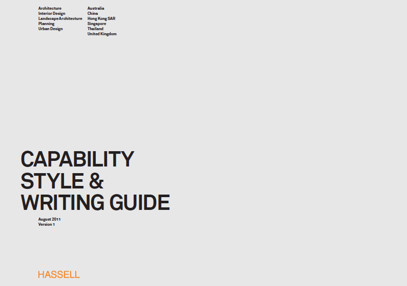 Hassell cp stat writing guide