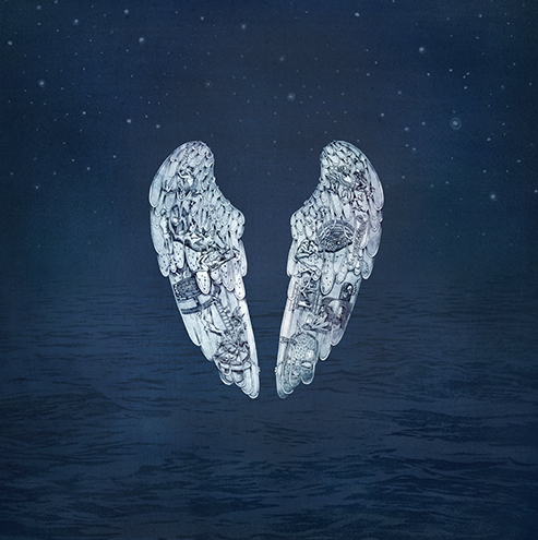 Coldplay album artwork from Ghost Stories with permission from Mila Furstova