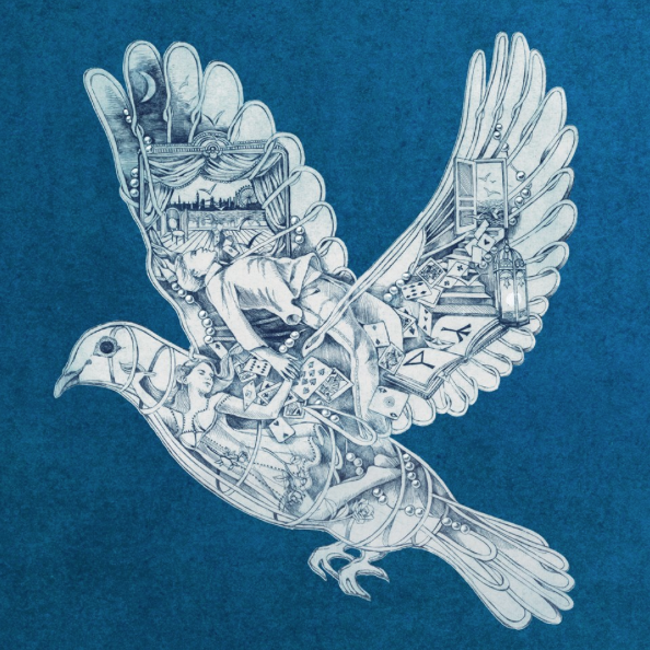 Dove by Mila Furstova from Coldplay single Magic on Ghost Stories