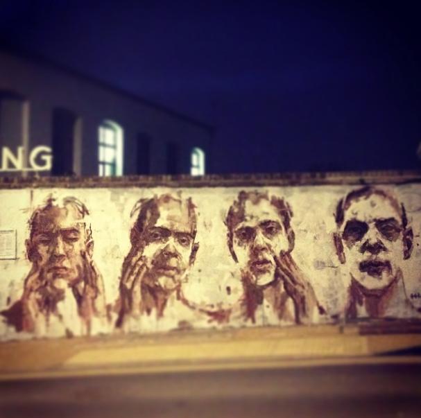 Borondo graffiti