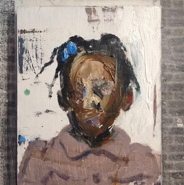 Brett Amory artist Lazarides face