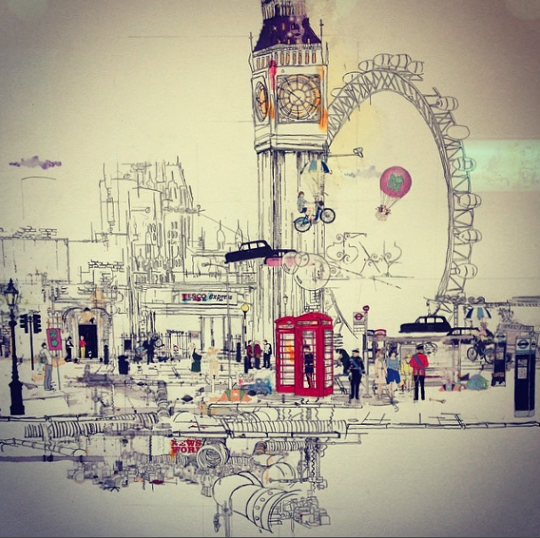 Laura Jordan illustration London