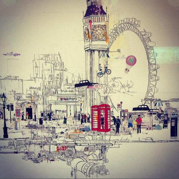 Laura Jordan illustration London