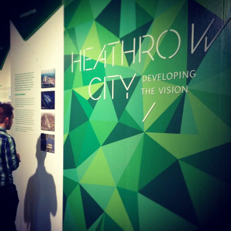 Heathrow City Exhibition Entrance