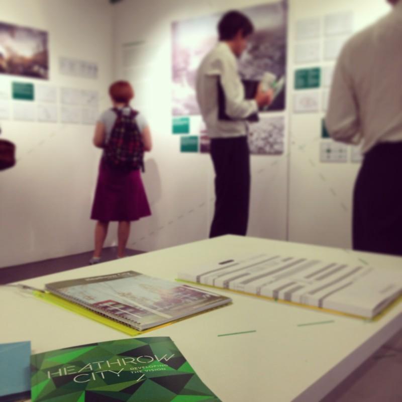 Heathrow City Exhibition and Catalogue